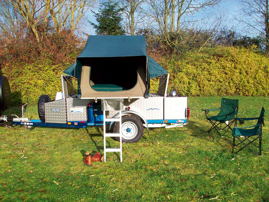 AG Overland roof tent trailers